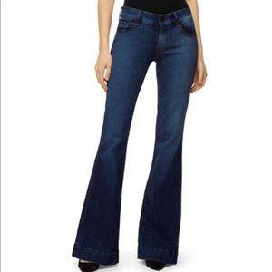 J Brand Lovestory Flare Leg Jeans. Size: 28